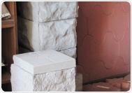 Блоки столба и крышка