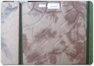КАРУСЕЛЬ 39х39х4 см (имитация мрамра) бело-корич