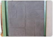 СТАРЫЙ КИРПИЧ 40х40х5 см черный